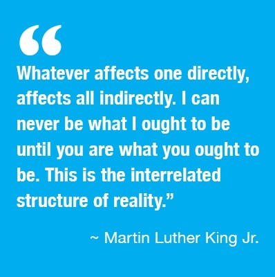 Martin Luther King Jr social justice quote